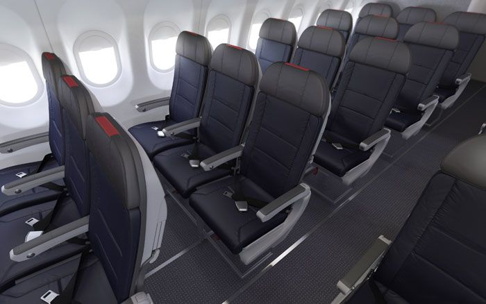 "Don't get excited: this looks like the ""Main Cabin Extra"" economy legroom, not the standard space down the back."